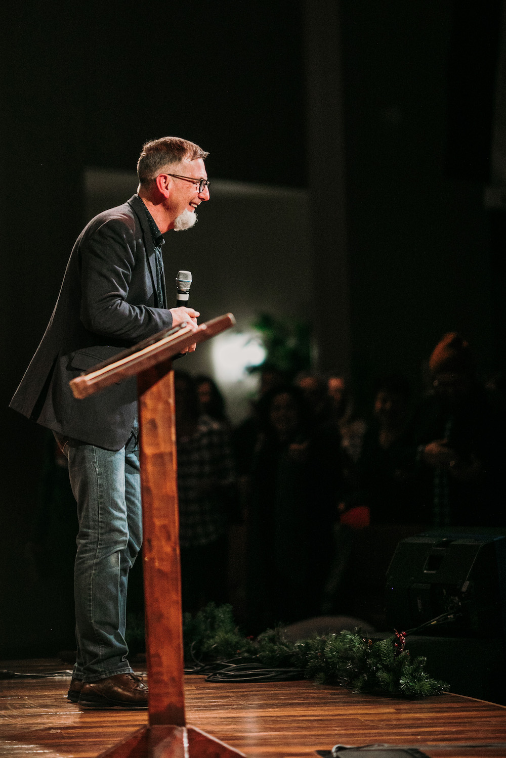 Jeff Collins at Passion & Presence Conference