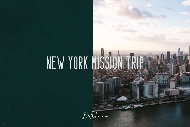 NYC Missions Trip