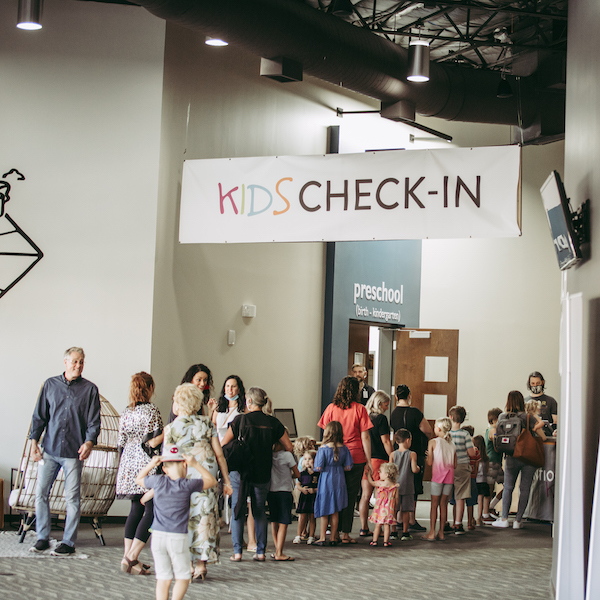 Impact Kids Check-In at Bethel Austin